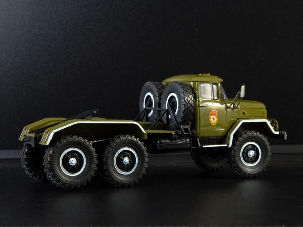 Macheta camion cap tractor ZIL 131NV, scara 1:43 2