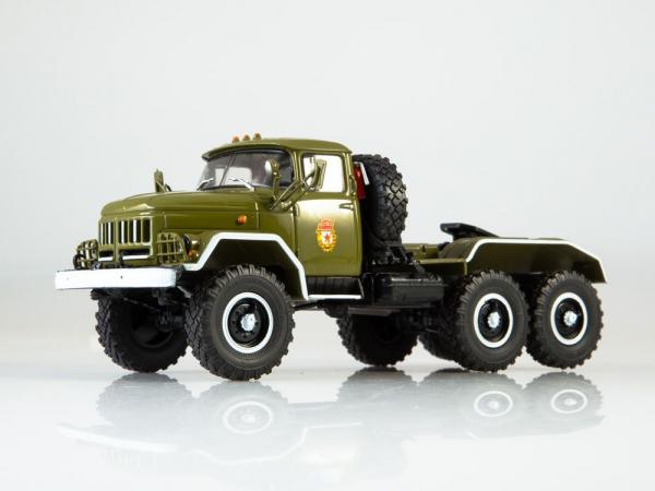 Macheta camion cap tractor ZIL 131NV, scara 1:43 3
