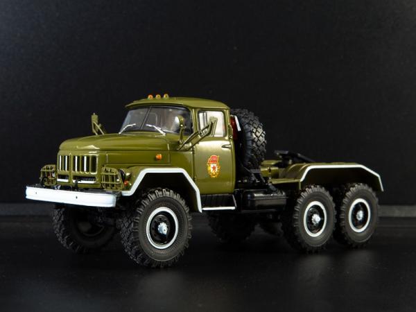 Macheta camion cap tractor ZIL 131NV, scara 1:43 1