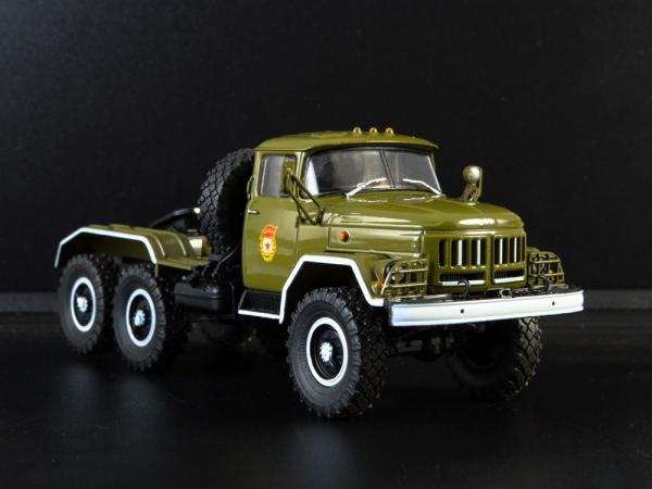 Macheta camion cap tractor ZIL 131NV, scara 1:43 0