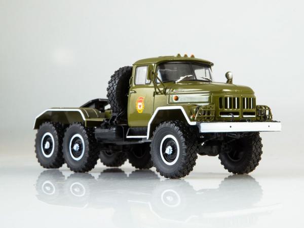 Macheta camion cap tractor ZIL 131NV, scara 1:43 4