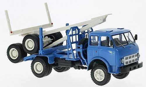 Macheta camion cu peridoc pentru  lemne MAZ 509A, scara 1:43 0