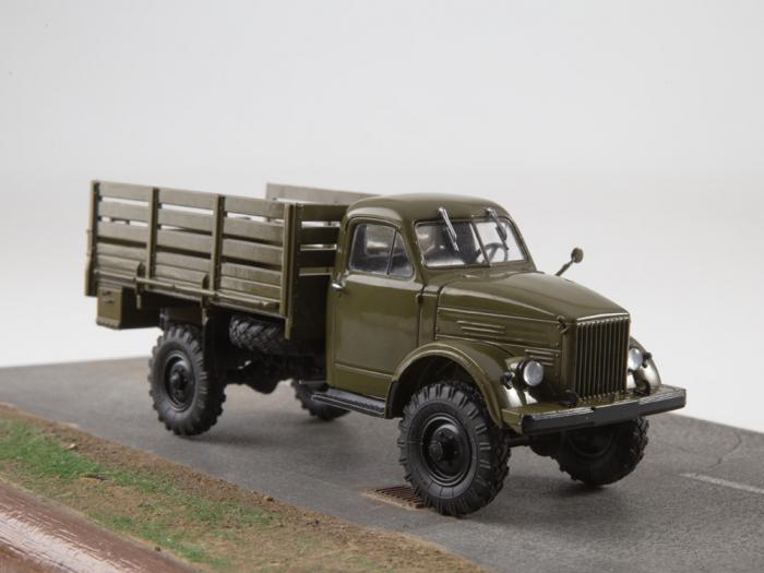 Macheta camion cu prelata GAZ-63, scara 1:43 [7]