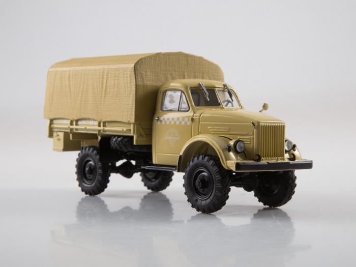 Macheta camion cu prelata GAZ-63, scara 1:43 [4]