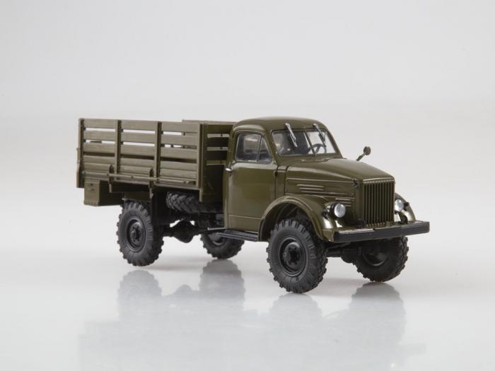 Macheta camion cu prelata GAZ-63, scara 1:43 [3]
