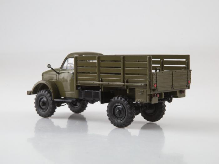 Macheta camion cu prelata GAZ-63, scara 1:43 [6]