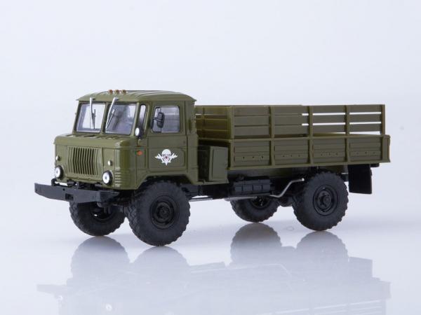 Macheta camion GAZ 66, scara 1:43 [0]