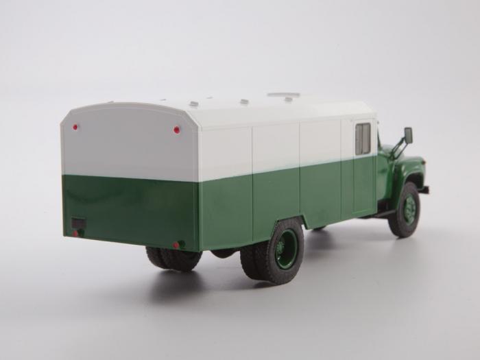 Macheta camion ZIL 130G duba de militie, scara 1:43 1