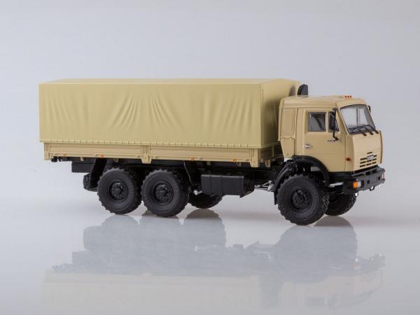 Macheta camion Kamaz 43118 6x6, scara 1:43 1