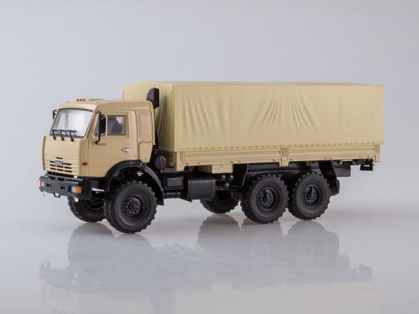 Macheta camion Kamaz 43118 6x6, scara 1:43 0
