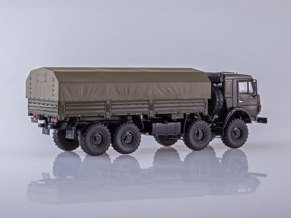 Macheta camion Kamaz 6350 8x8, scara 1:43 1