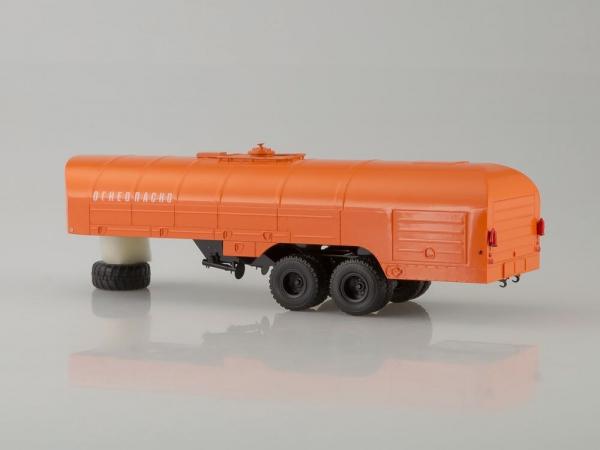 Macheta camion Kraz 258B1 cu semiremorca cisterna , scara 1:43 [1]