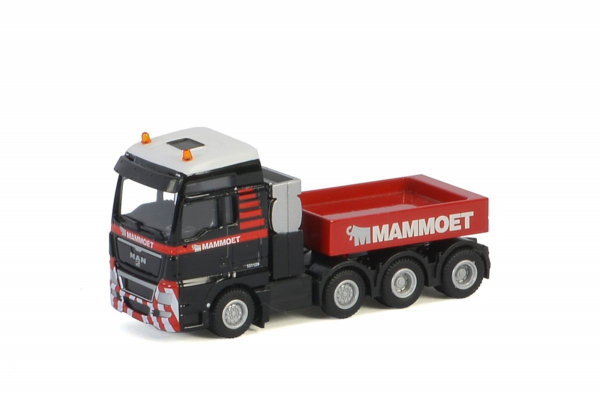 Macheta camion MAN TGX XXL 8x4, scara 1:87 2
