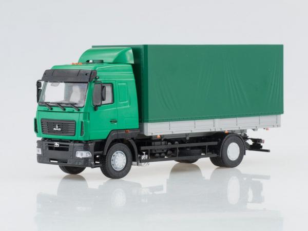 Macheta camion MAZ 5340 facelift, scara 1:43 1