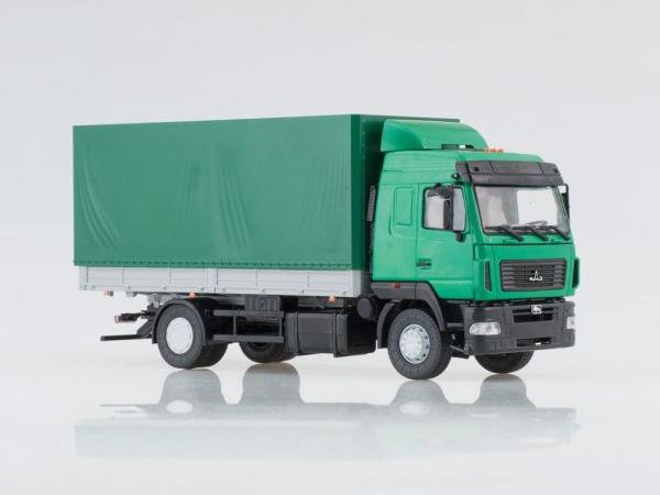 Macheta camion MAZ 5340 facelift, scara 1:43 0