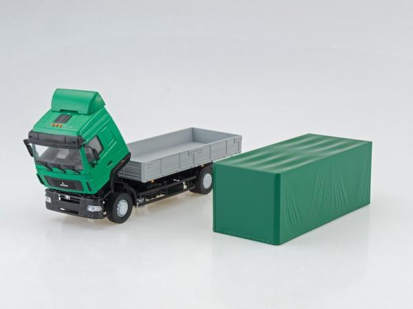 Macheta camion MAZ 5340 facelift, scara 1:43 3