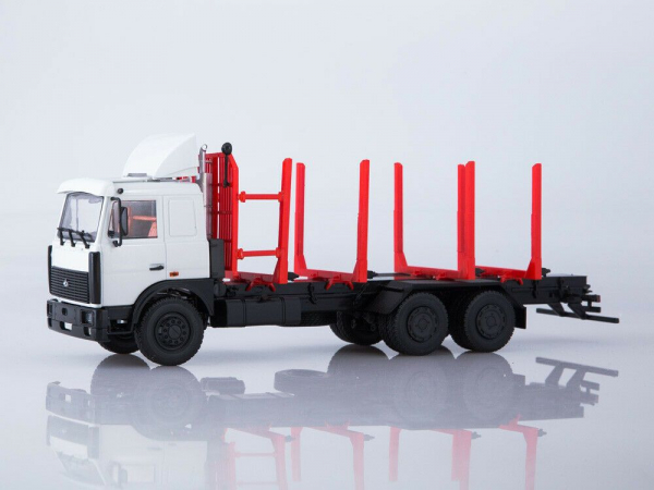 Macheta camion MAZ 6303 pentru lemne, scara 1:43 0