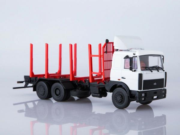 Macheta camion MAZ 6303 pentru lemne, scara 1:43 1