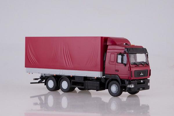 Macheta camion MAZ-6312 facelift, scara 1;43 1