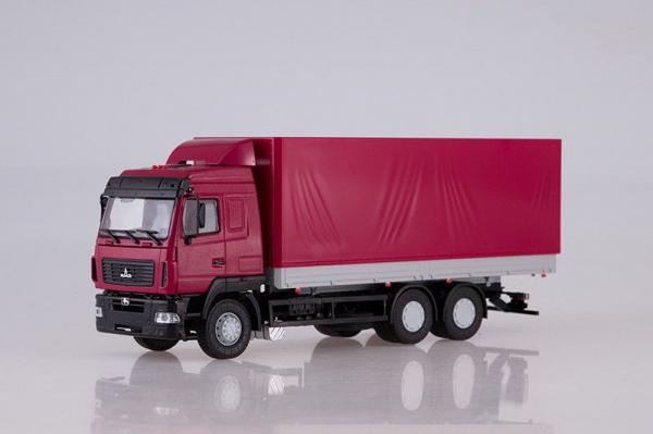 Macheta camion MAZ-6312 facelift, scara 1;43 0