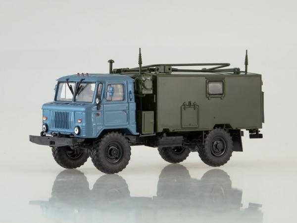Macheta camion militar de comandament Gaz 66, scara 1:43 [0]