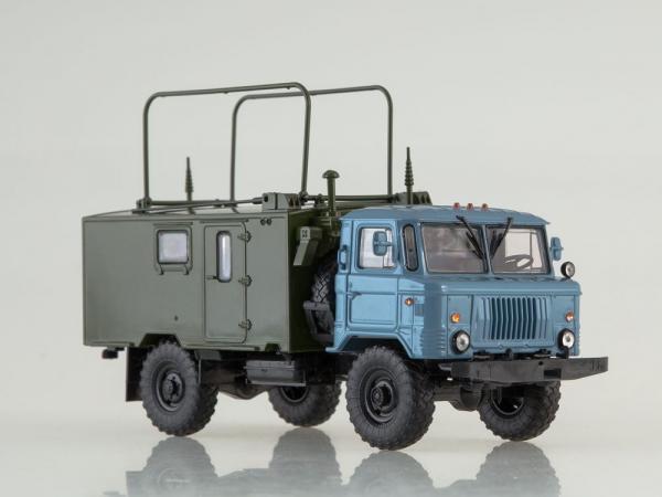 Macheta camion militar de comandament Gaz 66, scara 1:43 [2]