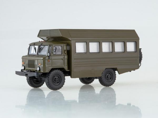 Macheta camion militar Gaz 66, scara 1:43 0
