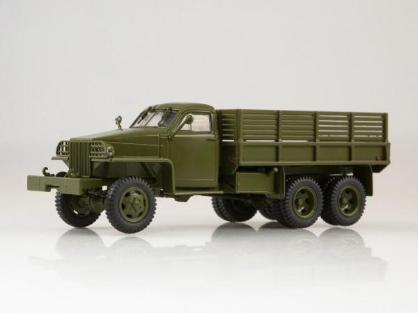 Macheta camion militar Studebaker 6x6 US6 U4, scara 1:43 0