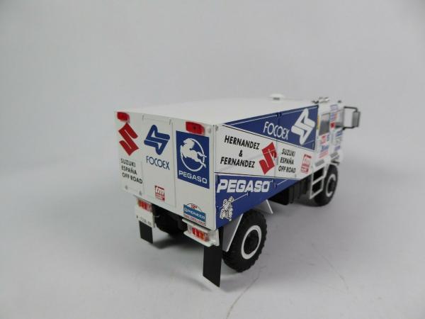 Macheta camion raliu Pegaso 3046 Dakar, scara 1:43 1