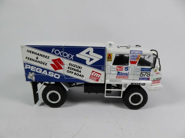 Macheta camion raliu Pegaso 3046 Dakar, scara 1:43 2