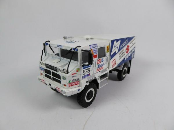 Macheta camion raliu Pegaso 3046 Dakar, scara 1:43 0