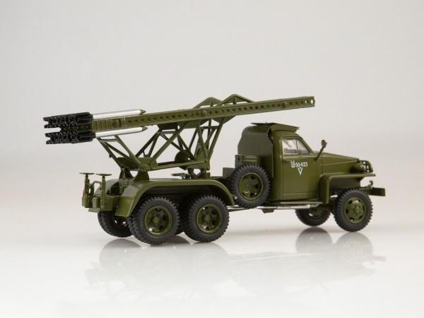Macheta camion Studebaker cu lansator de rachete BM-13  Katiusa, scara 1;43 4