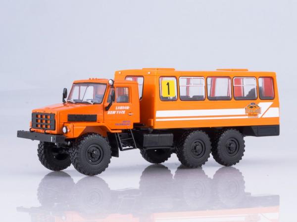 Macheta camion URAL-4322 duba de persoane, scara 1:43 0