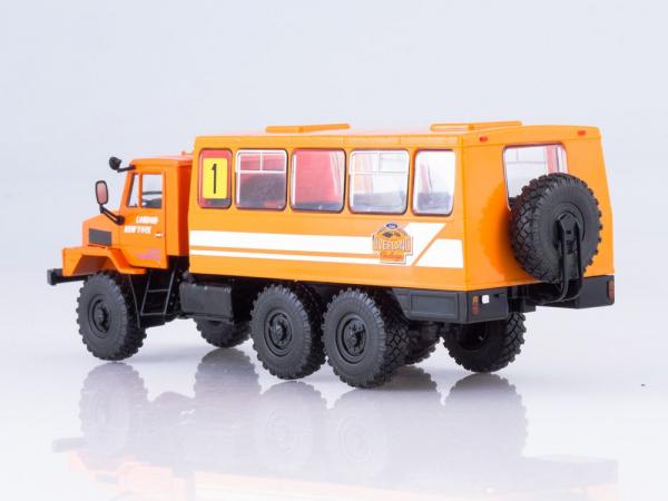 Macheta camion URAL-4322 duba de persoane, scara 1:43 3