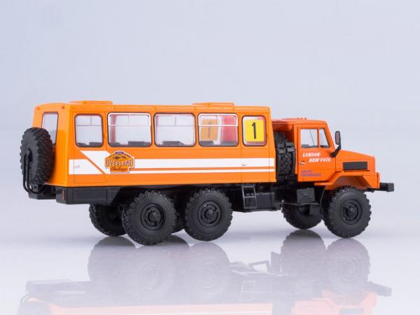 Macheta camion URAL-4322 duba de persoane, scara 1:43 1