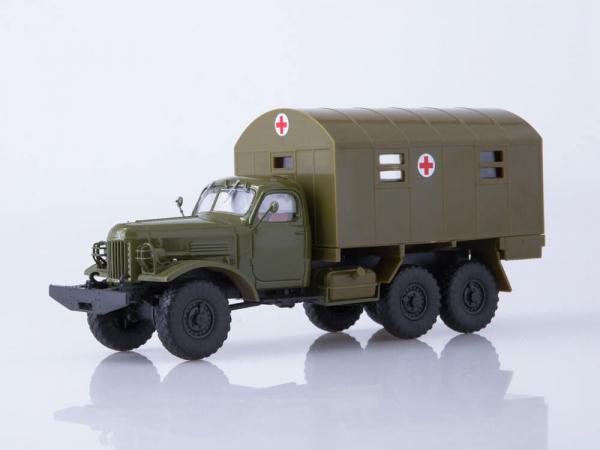 Macheta camion ZIL-157 ambulanta militara, scara 1:43 0