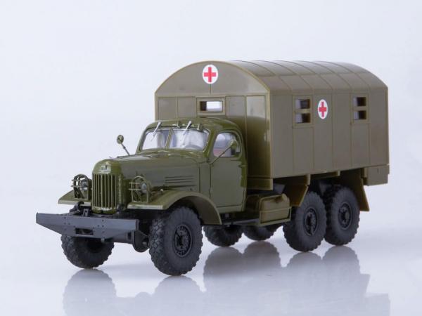 Macheta camion ZIL-157 ambulanta militara, scara 1:43 2