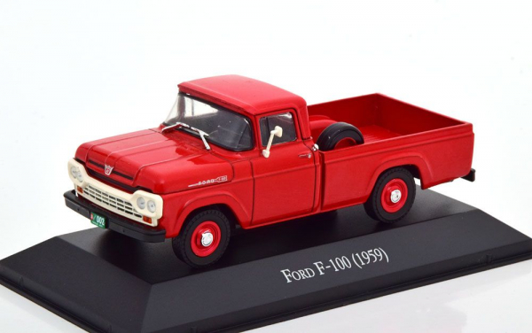 Macheta camioneta Ford F100 1959, scara 1:43 0