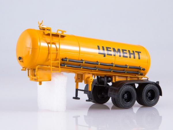 Macheta cap tractor Kamaz 54112 cu cimentruc, scara 1:43 4