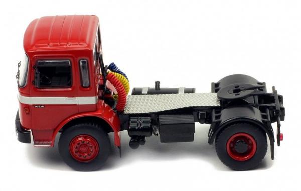 Macheta cap tractor MAN F8 16.320, scara 1:43 3