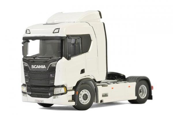 Macheta cap tractor noul Scania R 4x2, scara 1:50 0