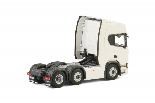 Macheta cap tractor noul Scania R Highline 6x2, scara 1:50 2
