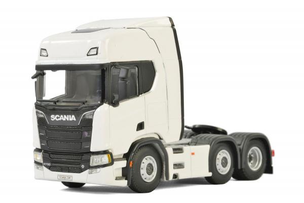Macheta cap tractor noul Scania R Highline 6x2, scara 1:50 0
