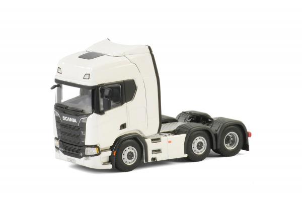 Macheta cap tractor noul Scania R Highline 6x2, scara 1:50 1