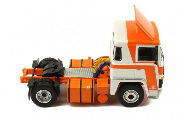 Macheta cap tractor Scania LBT 141, scara 1:43 1