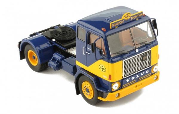 Macheta cap tractor Volvo F88, scara 1:4 0