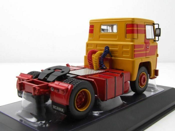 Macheta cap tractor Scania 141 LBT, scara 1:43 [1]