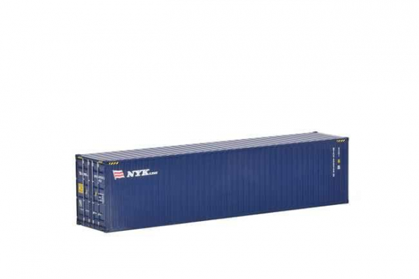 Macheta container de 40 de picoare NYK, scara 1:50 0