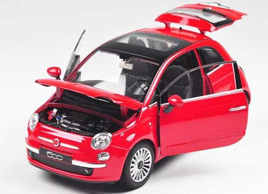 Macheta Fiat 500, scara 1:24 [1]