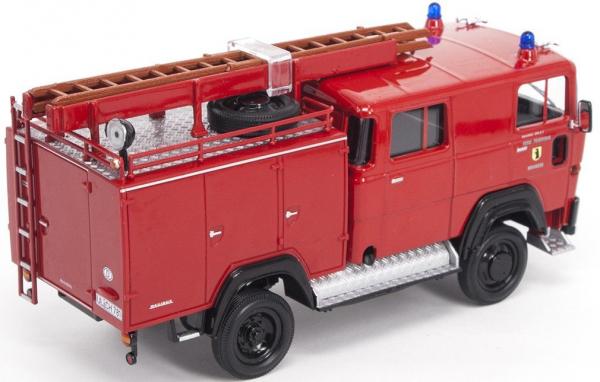 Macheta masina pompieri Magirus 100D 7FA LF8-TS, scara 1:43 1